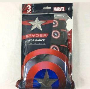 Spyder Marvel Captain America Boxer Briefs